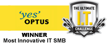 The Optus Ultimate IT Challenge Winner Most innovative IT SMB